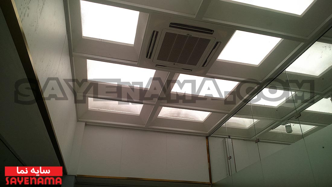 پوشش سقف پاسیو و سقف حیاط خلوت