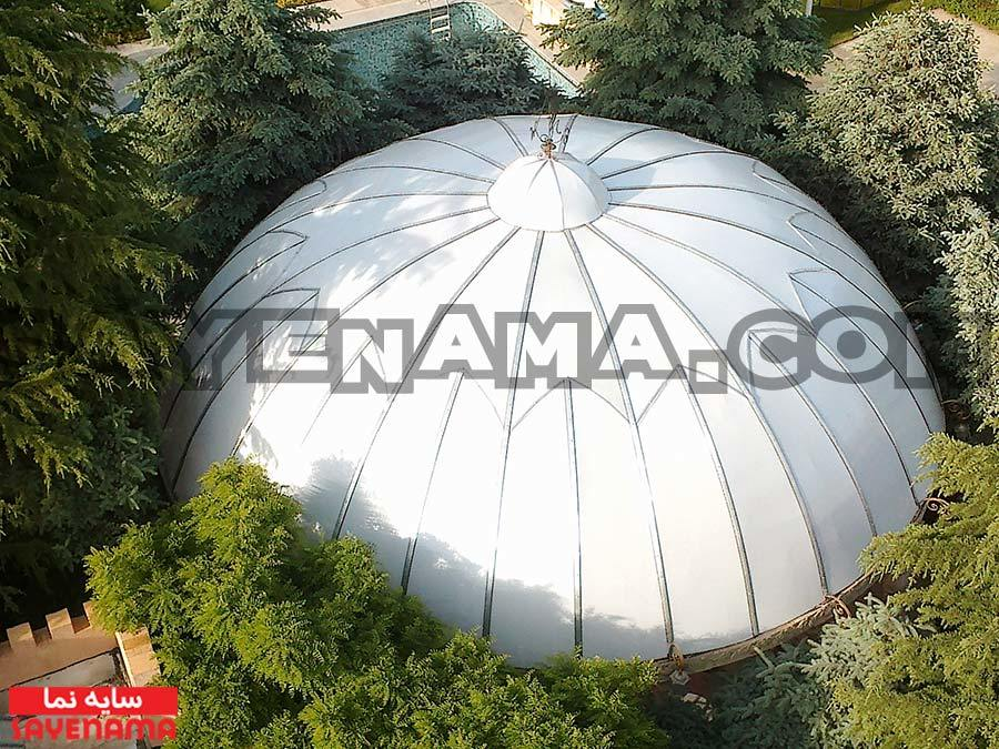 پوشش سقف گنبد