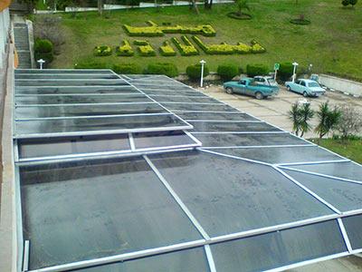 پوشش ورودی هتل