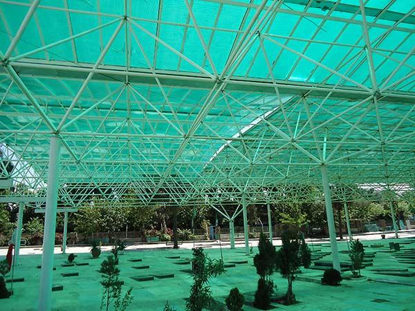 پوشش سقف سازه فضایی
