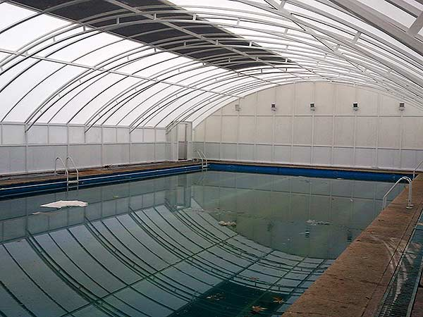 پوشش سقف استخر