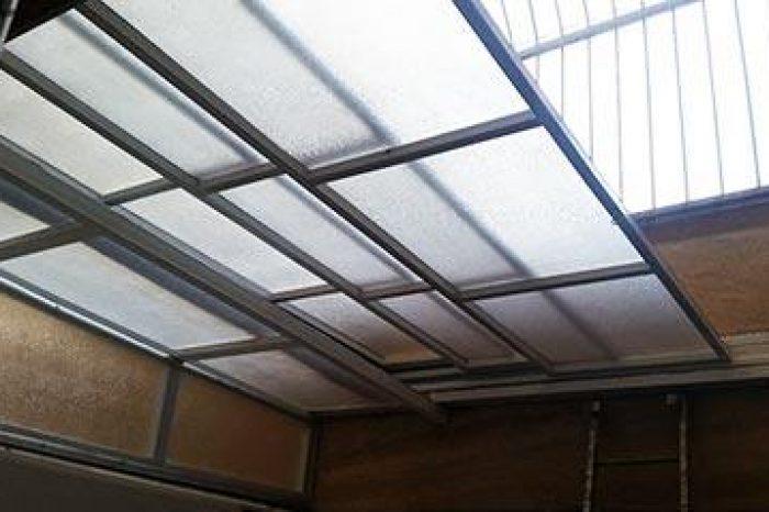پوشش سقف ریلی