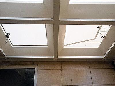 سقف پاسیو حبابی